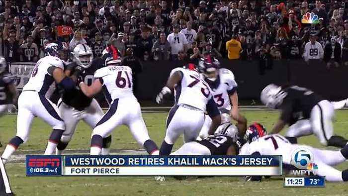 News video: Khalil Mack has jersey retired