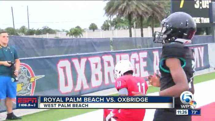 News video: Oxbridge cruises in spring game
