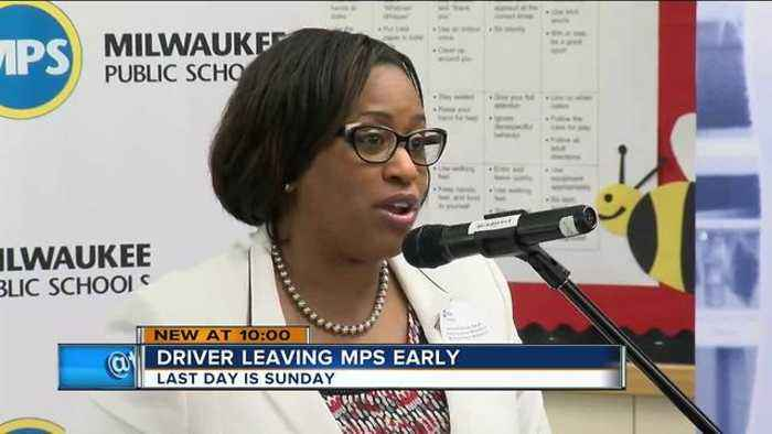 News video: MPS Superintendent Dr. Darienne Driver to leave earlier than scheduled