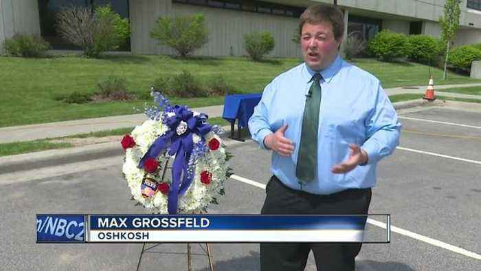 News video: Oshkosh Police remember their fallen
