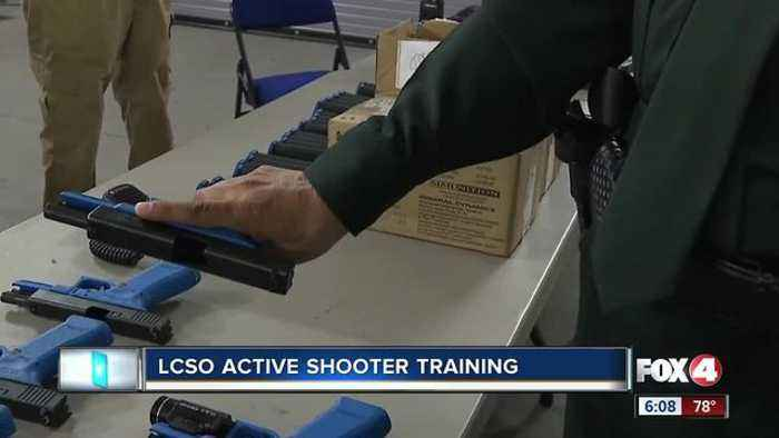 News video: Lee County Sheriff's Office host an active shooter seminar