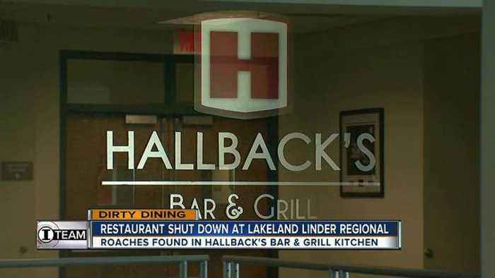 News video: Dirty Dining: Lakeland Regional Airport's on-site restaurant temporarily closes for live roaches
