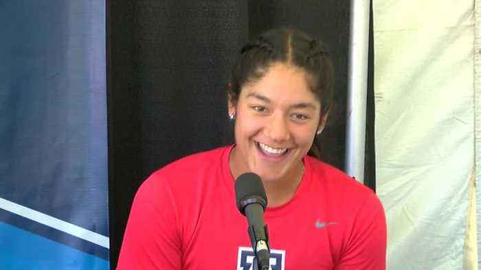 News video: Alyssa Palomino ready for her postseason debut