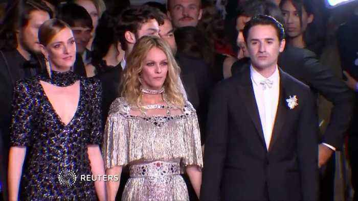 "Vanessa Paradis premieres ""Knife + Heart"" in Cannes"
