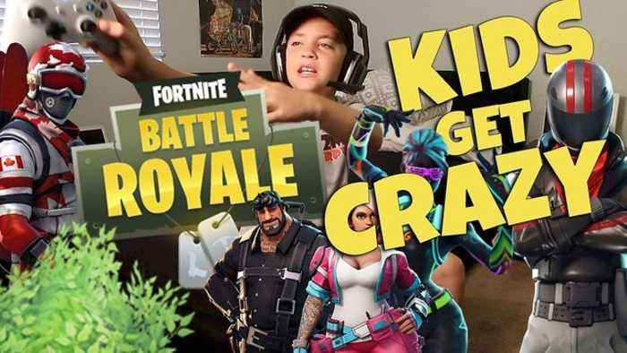 News video: Fortnite Battle Royale Kids Get Crazy (Rocco Piazza)