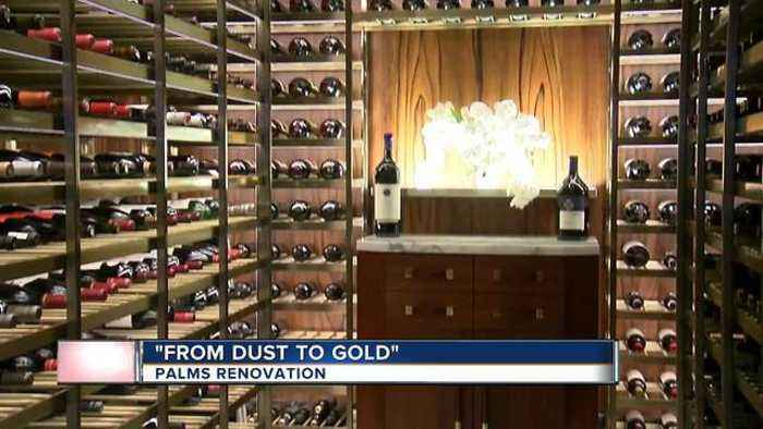 News video: The Palms hotel-casino introducing new look, new art program to the public