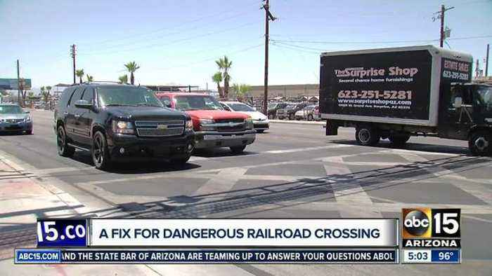 News video: Phoenix moving forward with fix to dangerous railroad crossing