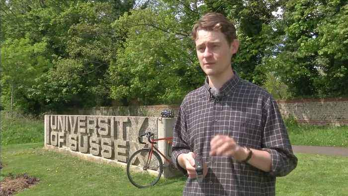 News video: Phone app to help cyclists report road problems designed by student