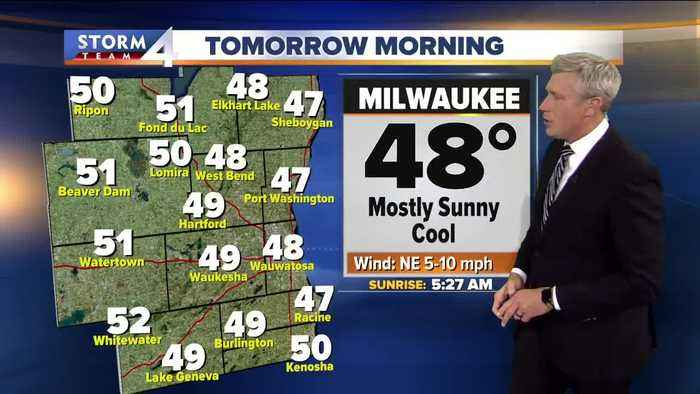 News video: Sunny Friday morning before clouds roll in