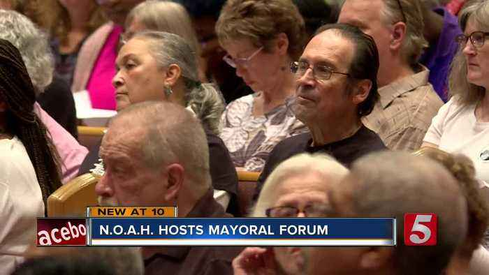 News video: Mayoral Candidates Attend Forum Held By NOAH