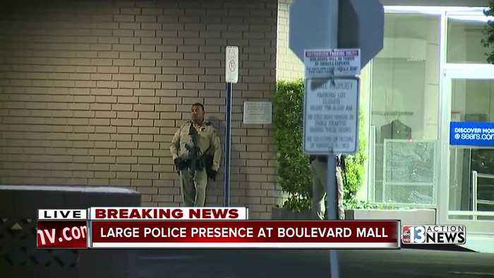 Reports of person with gun at Boulevard Mall