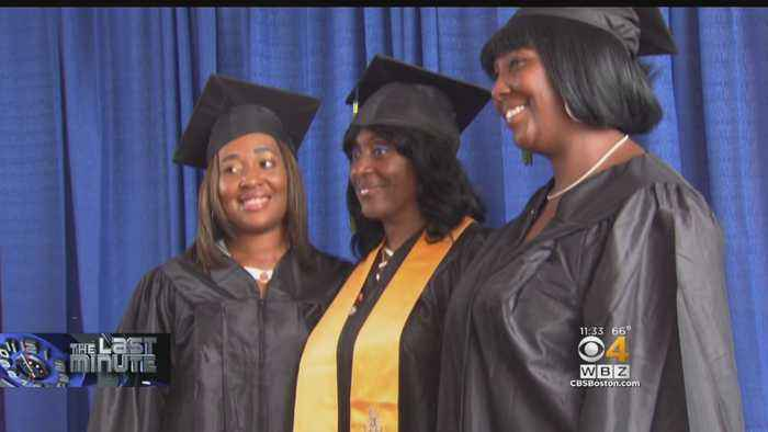 Mother, 2 Daughters Graduate From College At Same Time