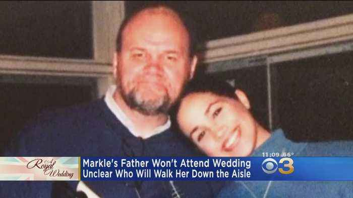 News video: Meghan Markle Confirms Her Father Thomas Markle Won't Attend Royal Wedding
