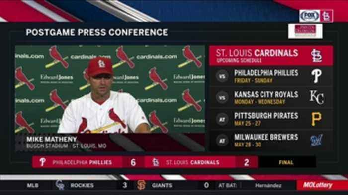 Matheny on Weaver: 'That was a fantastic start'