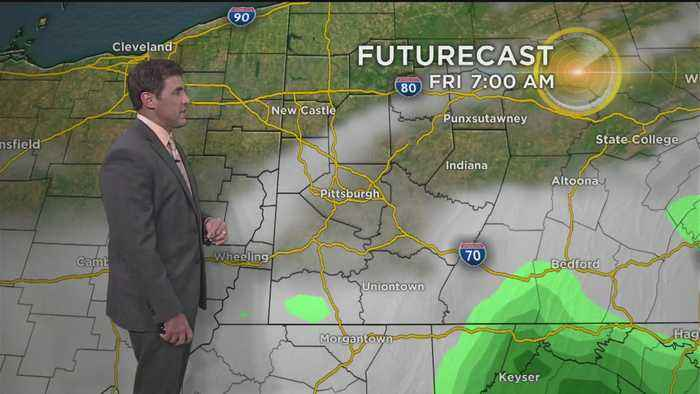 News video: KDKA-TV Nightly Forecast (5/17)