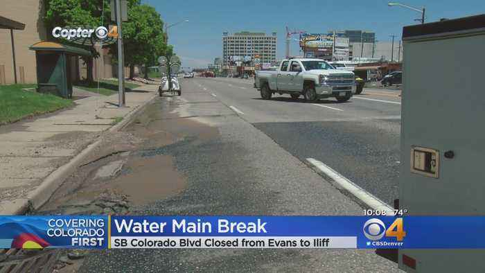 Water Main Break To Be Repaired By Friday Morning