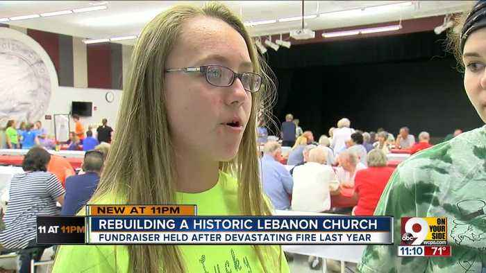 News video: Rebuilding an historic Lebanon church