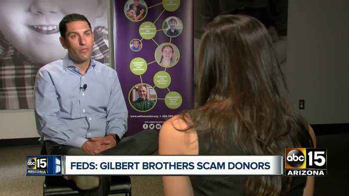 News video: Gilbert brothers charged in fundraising scam