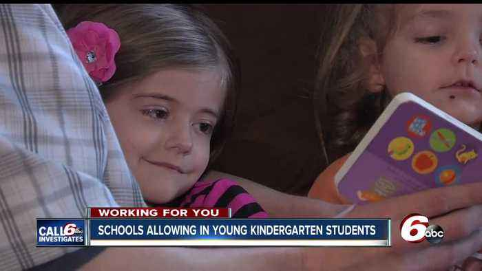 News video: Schools allow 4-year-olds to attend kindergarten despite new law financially penalizing schools