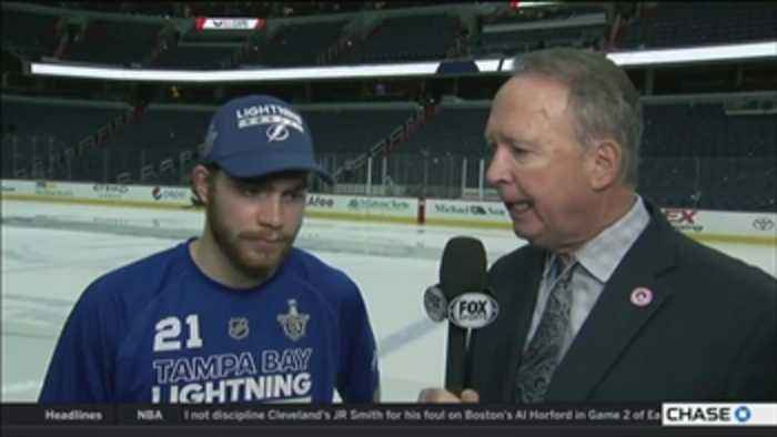 News video: Brayden Point credits the Bolts' chemistry, Andrei Vasilevskiy's brilliant play