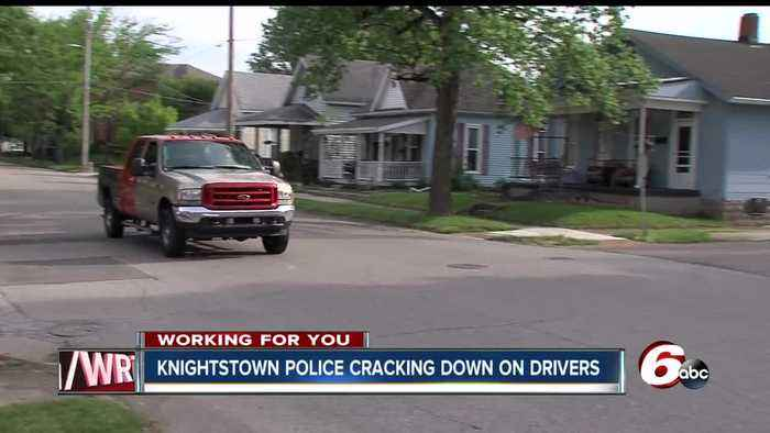 Knightstown police chief says he's gotten so many complaints about speeding cars that he's beefing up evening patrols