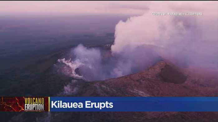 News video: Kilauea Eruption Shouldn't Impact Sacramento Air
