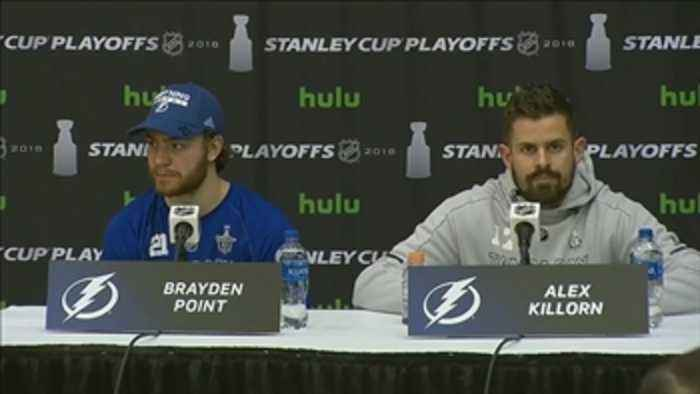News video: Brayden Point, Alex Killorn discuss game-winning goal, win over Capitals
