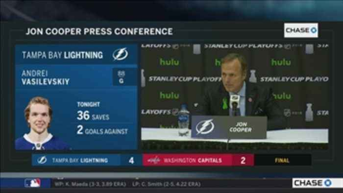 News video: Jon Cooper breaks down keys to victory