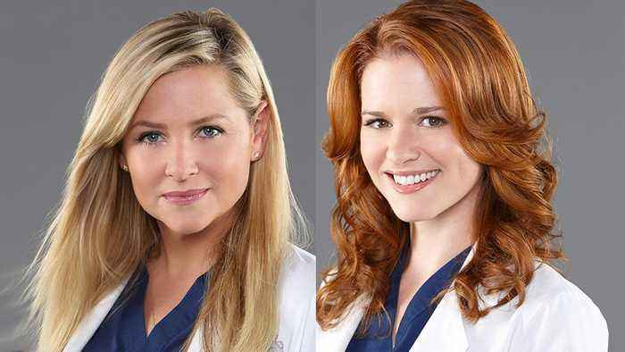 News video: 'Grey's Anatomy' Says Goodbye to Sarah Drew and Jessica Capshaw