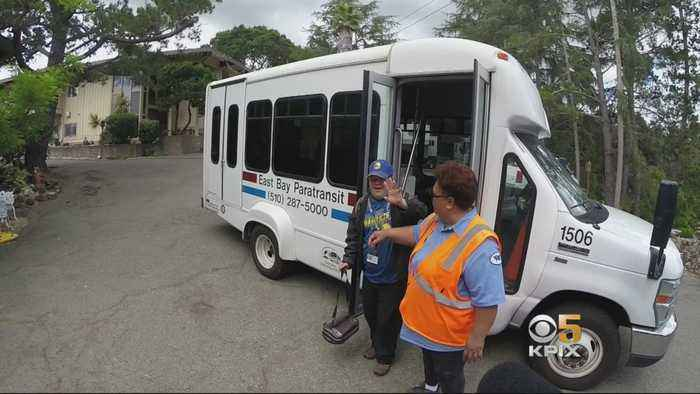 Special-Needs Riders Endure Slow Service on Paratransit Vans