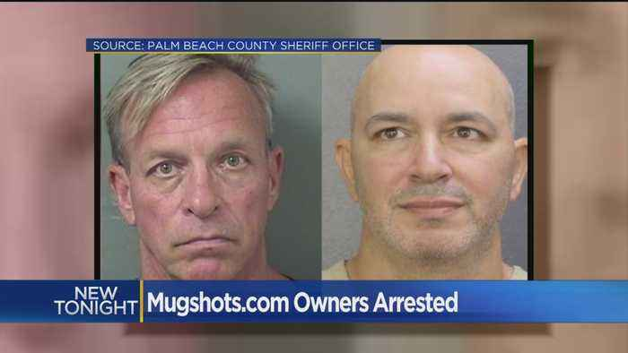 News video: Mugshot Website Owners Face Extortion Charges