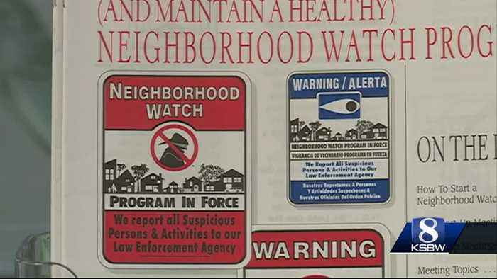 News video: Salinas Police looking to implement more neighborhood watch programs