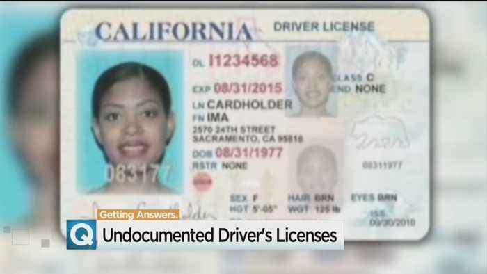 News video: More Than 3 Years Later, Rate Of California Immigrant Licenses Dropping