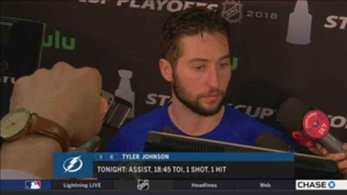 News video: Tyler Johnson: Good teams find ways to win