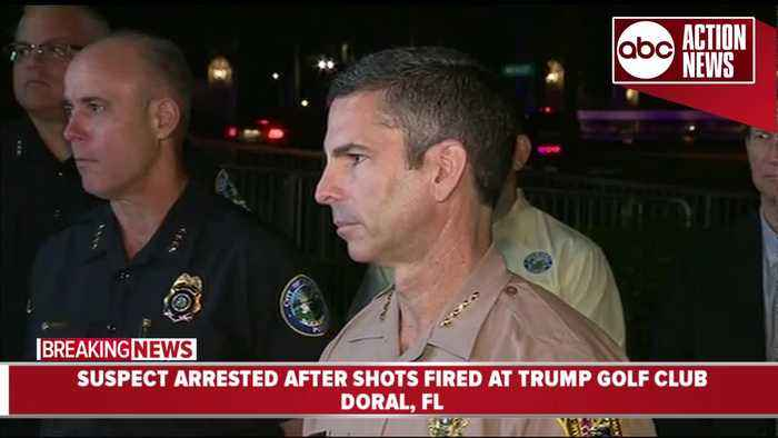 News video: Police: Person arrested after shots fired at Trump golf club | Press Conference (5.18 | 5AM)