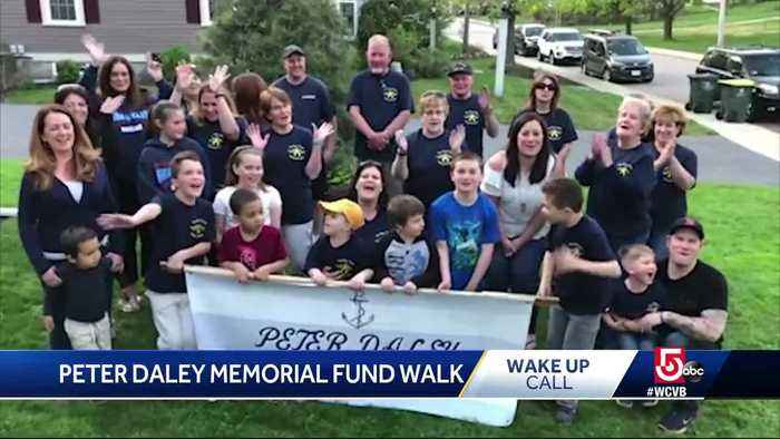 News video: Wake Up Call from Peter Daley Memorial Fund Walk
