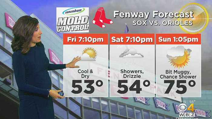 News video: WBZ Morning Forecast For May 18