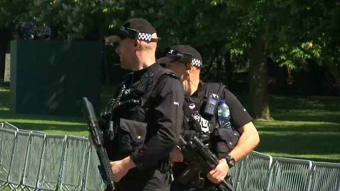 British police in remote areas could carry guns