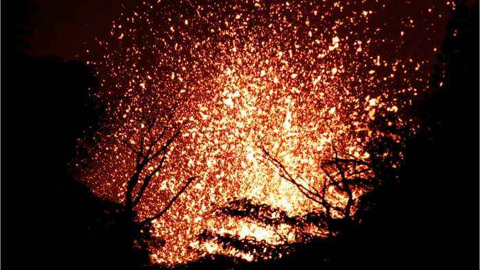 Lava Destroys More Homes In Hawaii