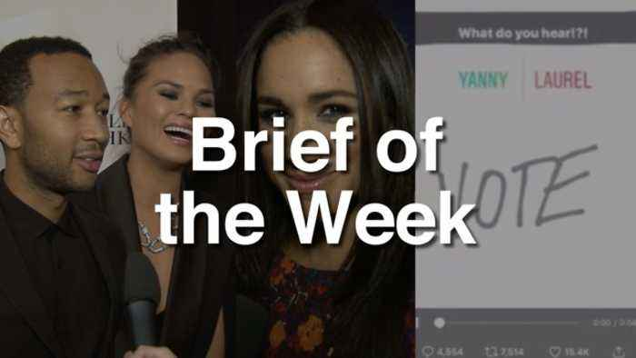 News video: LifeMinute Brief of the Week: Royal Wedding, Legend Baby, Yanny or Laurel?