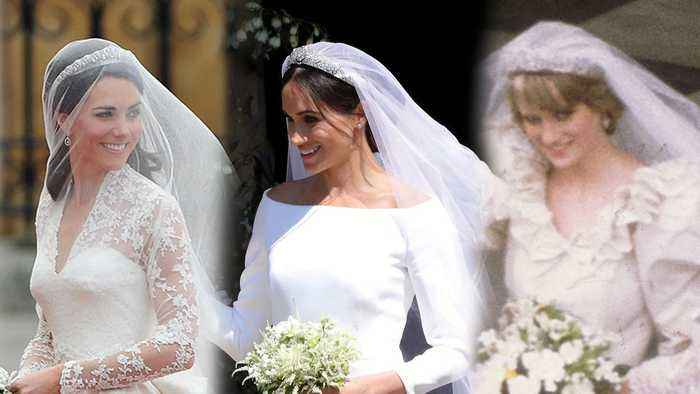 How Meghan Markle S Wedding Dress Compares To One News