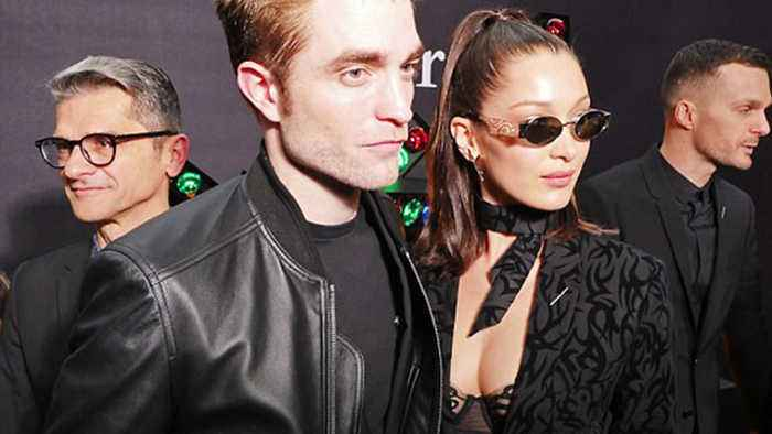 News video: Bella Hadid and Robert Pattinson Seen Getting Cozy And Flirty In New Pics