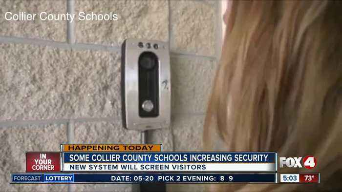 News video: Collier County schools begin increasing security