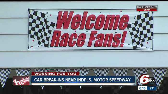 News video: Who's watching your vehicle during race week at IMS?