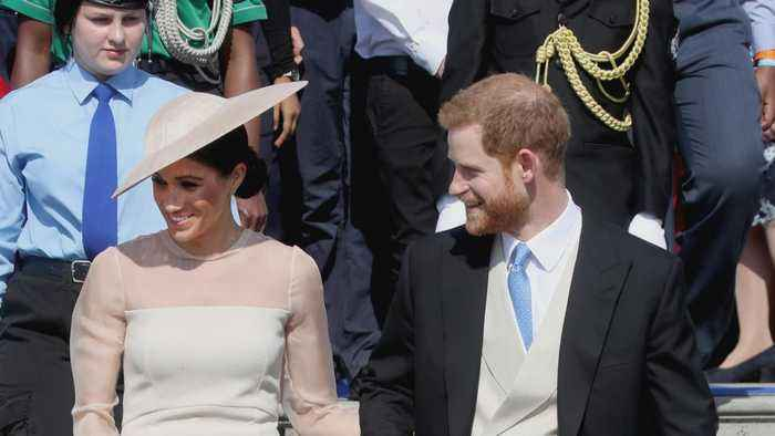 Harry and Meghan Make First Official Appearance - One News