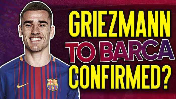 News video: Have Atletico Madrid CONFIRMED Antoine Griezmann's Transfer To Barcelona?! | #VFN