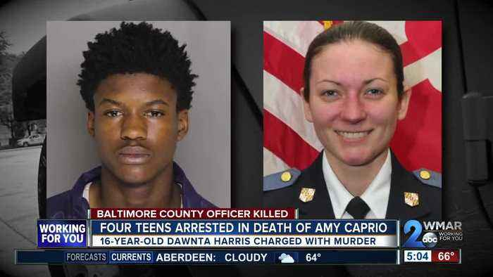 16-year-old charged with murder after killing Baltimore County officer in Perry Hall
