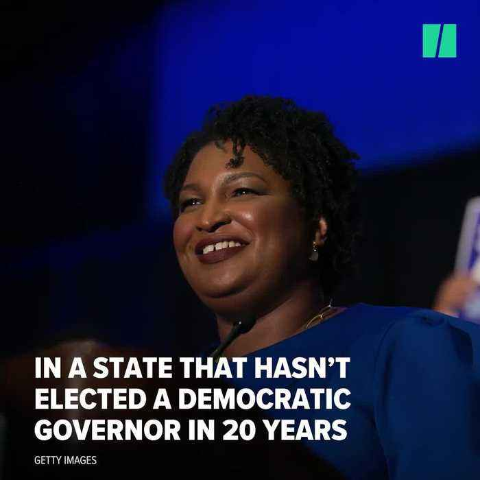 News video: Stacey Abrams Becomes America's First Black Female Nominee For Governor | HuffPost Politics