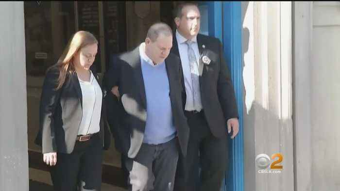 Disgraced Movie Mogul Does The Perp Walk Before Being Charged With Sex Crimes