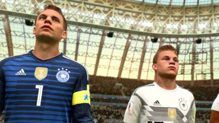 FIFA 2018 - World Cup Russia Update Gameplay - - One News ...